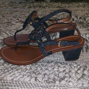 Tory Burch Mini Miller Block Heel Sandal